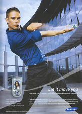 Samsung E800 Series Mobile Phone 2004 Magazine Advert #3163