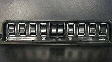 Jaguar E-Type Series 1.5/S2/S3 With Heated Rear Screen Rocker Switch Set