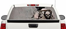 Military US Army Punisher Wrap rear window graphics Decal Sticker 66'' x 22''