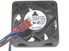 Delta Electronics AFB0512MB Gehäuselüfter Cooler Fan ++ 12V / 0,12A ++ 50x50x15
