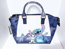 Lilo & and Stitch Scrump Dark Blue Satchel Purse Bag Disney Loungefly