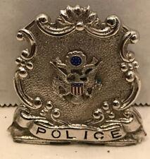 New listing Torpedo Station Newport Ri. Police Hat Badge