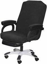 Cover For Office Chair Stretch Washable Computer Slipcovers Large Black New