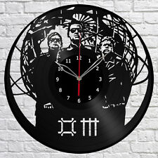Depeche Mode Vinyl Record Wall Clock Fan Art Home Decor Original Gift