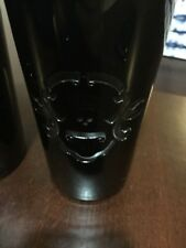 Polo Ralph Lauren Ayers Black Crystal Highball Glasses X 2 Skull Crossbones Home