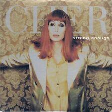 CD 2 TITRES--CHER--STRONG ENOUGH--1998