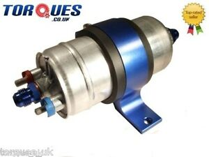 Bosch 044 Fuel Pump With Billet Cradle and AN Fitting