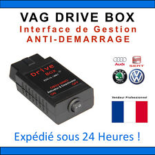 INTERFACE POUR AUDI GOLF SEAT VAG DRIVE BOX - DESACTIVATION ANTI DEMARRAGE -