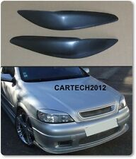 Vauxhall, Opel Astra G Mk4 EyeBrows ABS PLASTIC, tuning