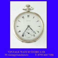 Rare Zenith Turkish 15 Jewelled Grand Prix Keyless Pocket Watch 1900