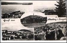 Altenberg Sachsen DDR Mehrbild Grußkarte 1965 See Teilansicht Panorama u.a.