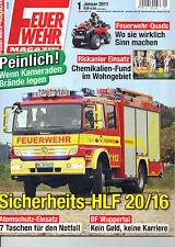 Feuerwehr Magazin! Nr. 1 Januar 2011!Top Zustand!Ungelesen!!