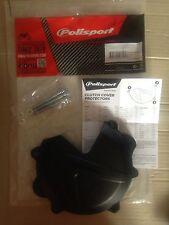 KTM EXC 250 300 2013 -2016 Clutch Cover Protector Guard schwarz