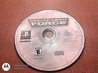 Sony PlayStation 1 PS1 PSOne Disc Only Tested Mobile Light Force Ships Fast