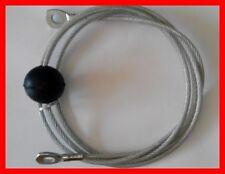 Multigym cavi-Cavo con Occhielli-Ball Estremità 4mm. DIAMETRO (con rivestimento in nylon 6mm).