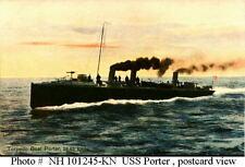 1/350 #4215 USS Porter  TB-6   Torpedo Boat  Complete Resin & PE Brass Model Kit