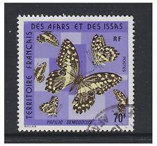 Somali Coast - 1975, 70f Butterfly stamp - F/U - SG 646
