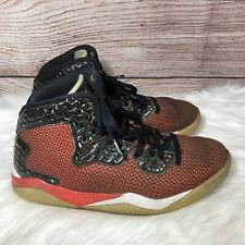 NIKE AIR JORDAN SPIKE FORTY MENS RED BLACK SHOES 819952-605,Size 10