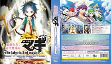 DVD ANIME The Labyrinth of Magic Season 1+2 +Sinbad no Bouken + OVA + FREE ANIME