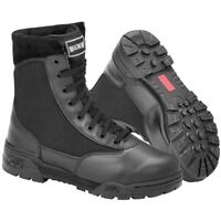 MAGNUM CLASSIC MEN BOOTS TACTICAL SECURITY AIRSOFT COMBAT POLICE PADDED BLACK