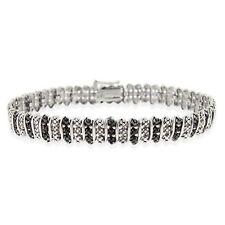 Black Diamond Tennis Fine Bracelets