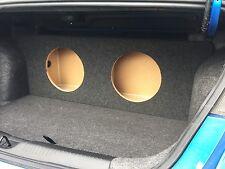 "For a 2013+ Dodge Dart - Custom Sub Box Subwoofer Speaker Enclosure - (2 12"")"