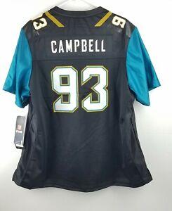 Women's Calais Campbell Jacksonville Jaguars #93 NFL Pro Line Jersey Size 2XL