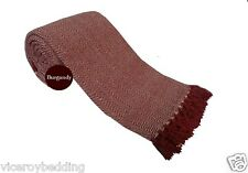 LARGE SIZE 100%25 Cotton Woven Sofa Bed Throw Blanket Bedspread Settee Cover