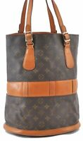 Auth Louis Vuitton Monogram Bucket GM Shoulder Bag USA Model T42236 LV B0952