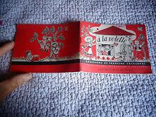 Livret de Chants Enfantins 15 CHANSONS DE FRANCINE COCKENPOT 1951 A LA VOLETTE