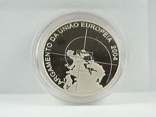 *** 8 euros conmemorativa Portugal 2008 pp proof ampliación de la UE moneda de plata ***