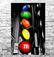 STUNNING NEW YORK CITYSCAPE #6 POP ART QUALITY CANVAS PICTURE WALL ART A1