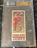 2003-04 LeBron James FLEER PLATINUM BIG SIGNS ROOKIE #7 BGS 9.5 PSA kobe topps