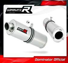 ZRX 1200 Échappement Ovale Dominator RACING SILENCIEUX muffler 2001 2002 2003 2004