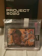 Topps Project 2020 #110 1955 Pirates Roberto Clemente by Sophia Chang *In Hand*
