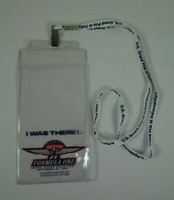 2000 Formula-1 Indianapolis USGP Event I Was There! Lanyard & Ticket Holder IMS