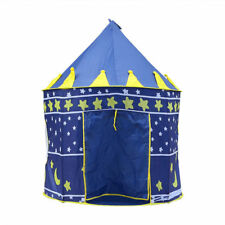 CHILDRENS KIDS POP UP PLAY TENT BOYS PRINCE CASTLE  PLAYHOUSE INDOOR OUTDOOR