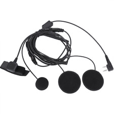PTT Headset Durable Cycling Helmet Headset for Motorcycling Bike Cycling