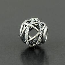 New Authentc Pandora Charm Galaxy 791388CZ Sterling Silver Bead