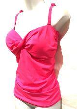 plus sz S 16 TS TAKING SHAPE Positano Tankini Top comfy bathers swimwear NWT!