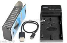 D-LI90P DLI90 USB Charger for Pentax K7 K-7 K5 IIs 645D K-52s K-5IIs K01 K-01 K3