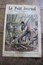 Petit journal dibujada Nº936 1907 Circo vendedor ambulante niñas Pescadores