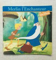 Merlin l'Enchanteur Walt Disney Format Broché | Chez Hachette | Édition de 1993