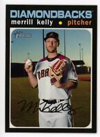 2020 Topps Heritage #361 MERRILL KELLY Arizona Diamondbacks 1971 STYLE CARD