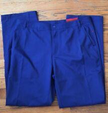 Nwt Fila Sport Golf Blue Pant with Tee Pocket-Size 34 x 32