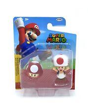 Super Mario Toad With Super Mushroom Nintendo Action Figure Statue Figurine