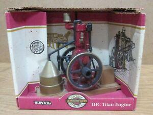 International Harvester TITAN ENGINE, 1/8 Scale Die cast, ERTL 1994, Mint in Box