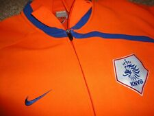 Authentic World Cup Netherlands Warmup Football Soccer Jersey Jacket Holland XL