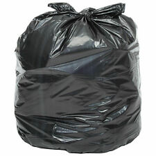 2X Heavy Duty Trash Bags, 40 to 45 Gallon, 1.7 Mil, 100/Case