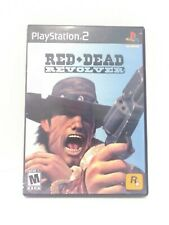 Red Dead Revolver (Sony PlayStation 2 PS2) Black Label w/ Manual Fast Ship!